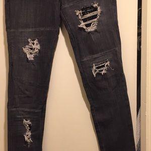 Frankie B. Jeans - FrankieB skinny ripped jeans